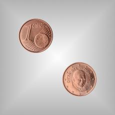 1 Cent Kursmünze Vatikan 2006