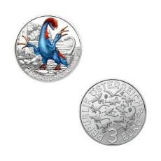 3 EURO Therizinosaurus Österreich 2021