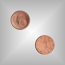 1 Cent Kursmünze San Marino 2004