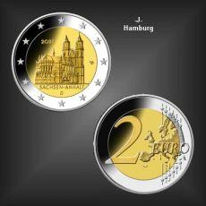 2 EURO Magdeburger Dom -J- BRD 2021