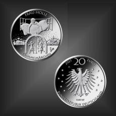 20 EURO Grimms Märchen Frau Holle BRD 2021