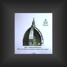 5 EURO Santa Maria del Fiore Vatikan 2018 PP