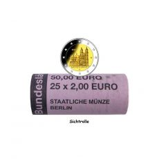 2 EURO Rolle Magdeburger Dom -A- BRD 2021