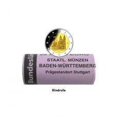 2 EURO Rolle Magdeburger Dom -F- BRD 2021