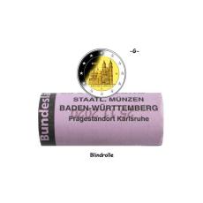 2 EURO Rolle Magdeburger Dom -G- BRD 2021