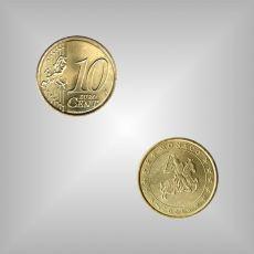 10 Cent Kursmünze Monaco 2001