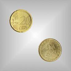 20 Cent Kursmünze Monaco 2001