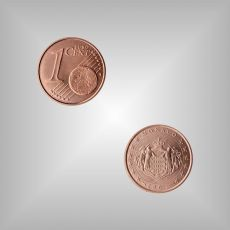 1 Cent Kursmünze Monaco 2002