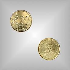 10 Cent Kursmünze Monaco 2003