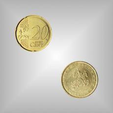 20 Cent Kursmünze Monaco 2003