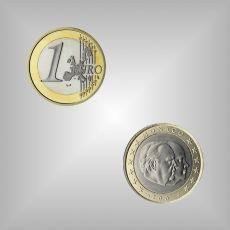 1 EURO Kursmünze Monaco 2003