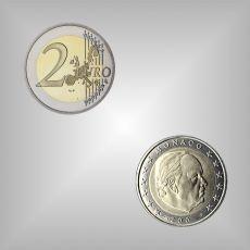 2 EURO Kursmünze Monaco 2003
