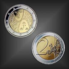 2 EURO 100 Jahre Wahlrecht Finnland 2006