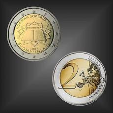 2 EURO Römische Verträge Finnland 2007