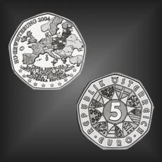 5 EURO EU - Erweiterung Österreich 2004