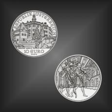 10 EURO Schloss Ambras Österreich 2002