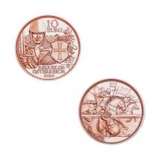 10 EURO Tapferkeit Österreich 2020