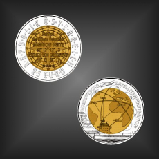 25 EURO Satellitennavigation Österreich 2006
