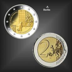 2 EURO Kniefall v. Warschau -A- BRD 2020