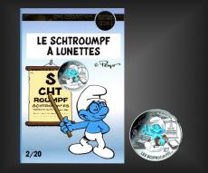10 EURO Schlumpf-Lunettes Frankreich 2020 - Nr. 2