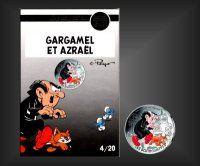 10 EURO Schlumpf-Gargamel Frankreich 2020 - Nr. 4