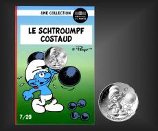 10 EURO Schlumpf-Costaud Frankreich 2020 - Nr. 7