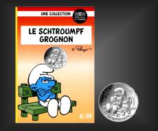 10 EURO Schlumpf-Grognon Frankreich 2020