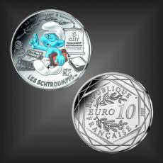 10 EURO Schlumpf-Lunettes Frankreich 2020