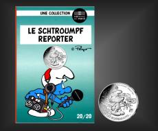 10 EURO Schlumpf-Reporter Frankreich 2020 - Nr. 20
