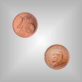 2 Cent Kursmünze Vatikan 2005