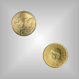 10 Cent Kursmünze Vatikan 2005