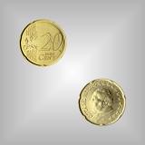 20 Cent Kursmünze Vatikan 2005
