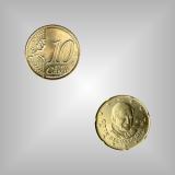 10 Cent Kursmünze Vatikan 2006