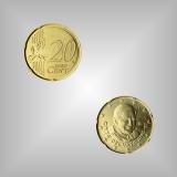 20 Cent Kursmünze Vatikan 2006