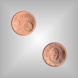 5 Cent Kursmünze Vatikan 2013