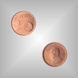 5 Cent Kursmünze Vatikan 2014
