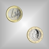 1 EURO Kursmünze Vatikan 2014