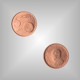 5 Cent Kursmünze Vatikan 2015