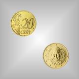 20 Cent Kursmünze Vatikan 2015
