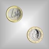 1 EURO Kursmünze Vatikan 2015