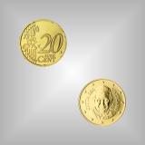20 Cent Kursmünze Vatikan 2016