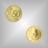 50 Cent Kursmünze Vatikan 2016
