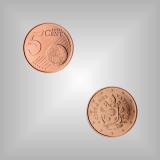 5 Cent Kursmünze Vatikan 2017