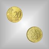 20 Cent Kursmünze Vatikan 2017