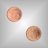 5 Cent Kursmünze Vatikan 2018