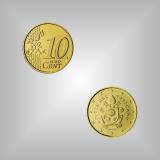 10 Cent Kursmünze Vatikan 2018