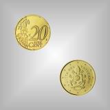 20 Cent Kursmünze Vatikan 2020