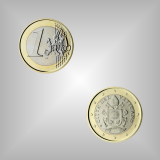 1 EURO Kursmünze Vatikan 2018