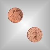 2 Cent Kursmünze San Marino 2005