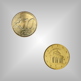 10 Cent Kursmünze San Marino 2004